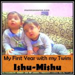 my first year with my twins