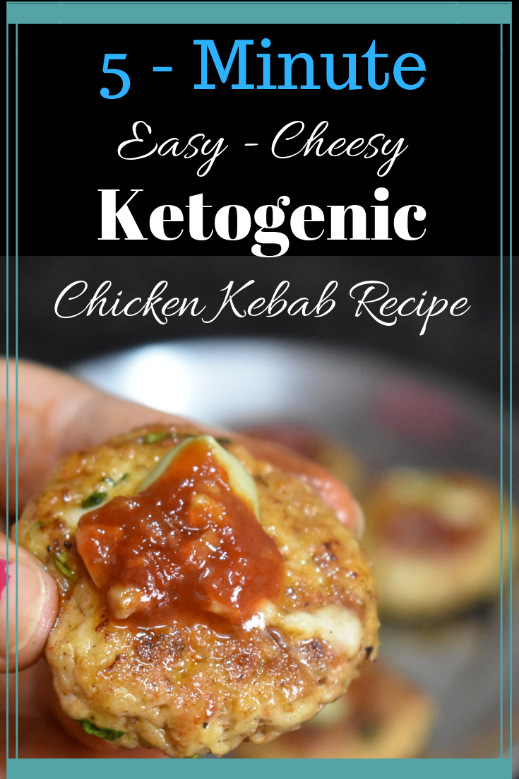 ketogenic easy cheesy chicken kebabs